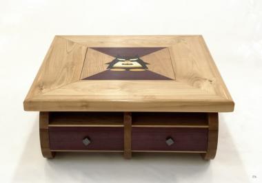 Table basse à jeux