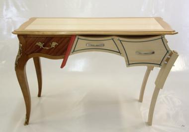 Bureau transformable en table basse